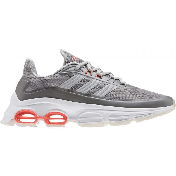 adidas QUADCUBE šedá 8 - Pánská volnočasová obuv
