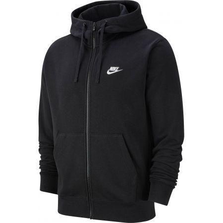 Pánska mikina - Nike NSW CLUB HOODIE FZ FT M - 1