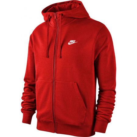 Мъжки суитшърт - Nike NSW CLUB HOODIE FZ FT M - 1