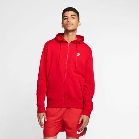 Мъжки суитшърт - Nike NSW CLUB HOODIE FZ FT M - 3