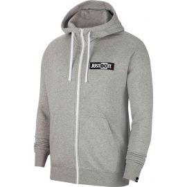 Nike NSW JDI HOODIE FZ FLC BSTR M - Férfi pulóver