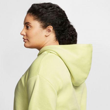Women's sweatshirt - Nike NSW ICN CLSH FLC HOODIE PLUS W - 5