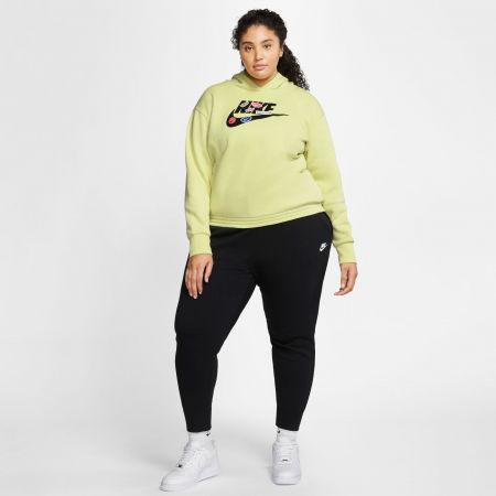 Women's sweatshirt - Nike NSW ICN CLSH FLC HOODIE PLUS W - 7