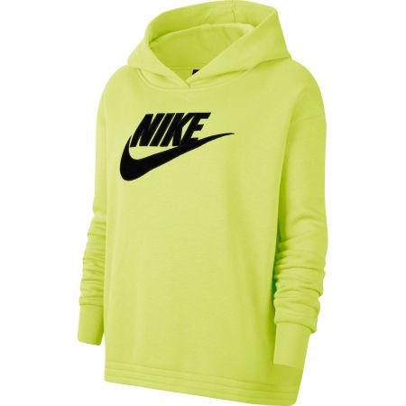 Women's sweatshirt - Nike NSW ICN CLSH FLC HOODIE PLUS W - 1