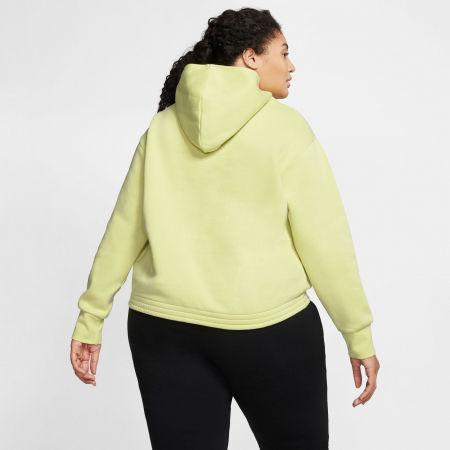 Women's sweatshirt - Nike NSW ICN CLSH FLC HOODIE PLUS W - 4