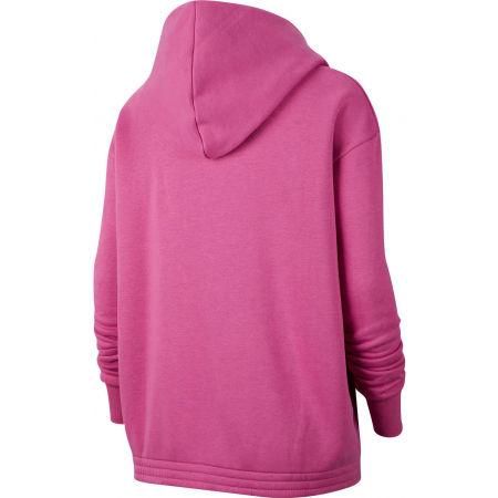 Women's plus size sweatshirt - Nike NSW ICN CLSH FLC HOODIE PLUS W - 2