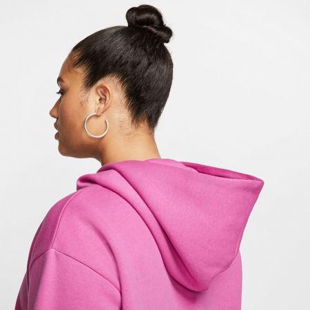 Women's plus size sweatshirt - Nike NSW ICN CLSH FLC HOODIE PLUS W - 7