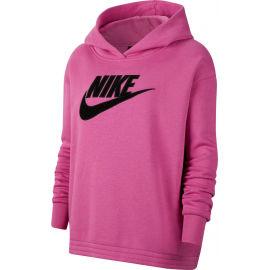 Nike NSW ICN CLSH FLC HOODIE PLUS W - Hanorac damă mărime mare