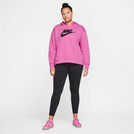 Women's plus size sweatshirt - Nike NSW ICN CLSH FLC HOODIE PLUS W - 8