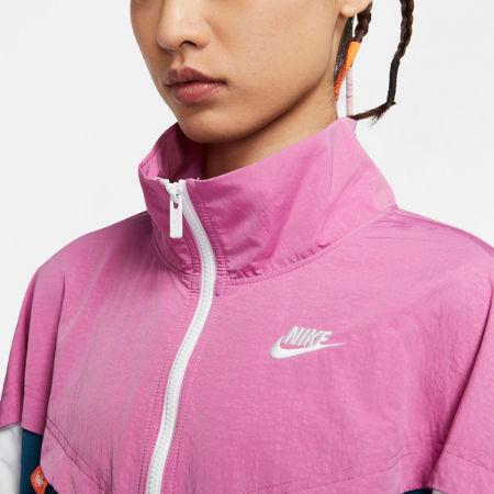 Women's jacket - Nike NSW ICN CLSH TRACK JKT WVN W - 5