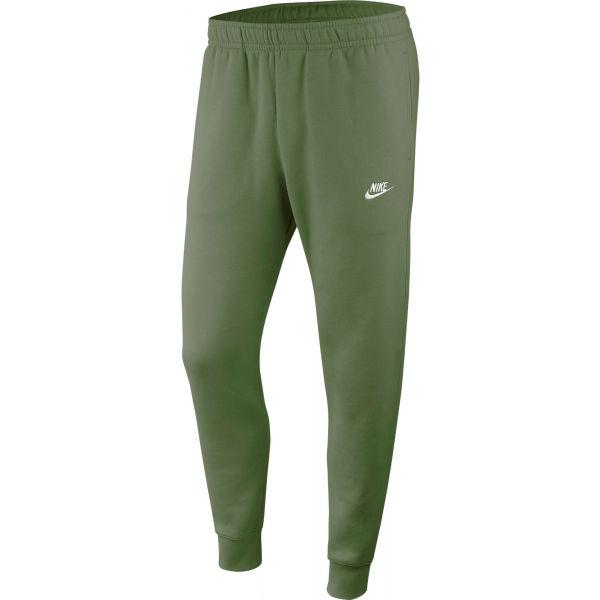 Nike NSW CLUB JGGR BB M zelená XL - Pánské kalhoty