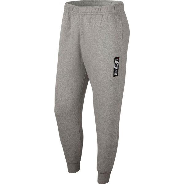 Nike NSW JDI PANT FLC BSTR M šedá XL - Pánské kalhoty