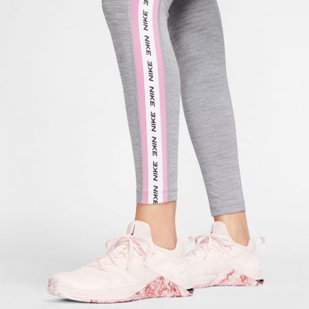 Women's tights - Nike ONE TGHT CROP NOVELTY W - 6