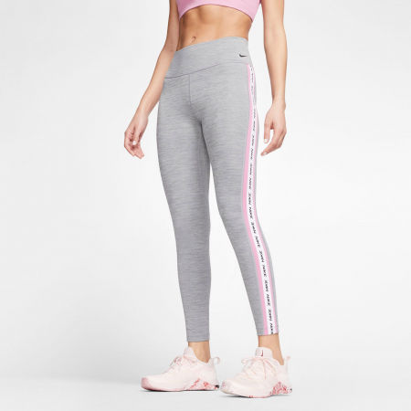 Women's tights - Nike ONE TGHT CROP NOVELTY W - 3