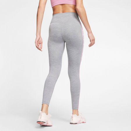 Women's tights - Nike ONE TGHT CROP NOVELTY W - 4