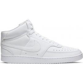 Nike COURT VISION MID - Pánská kotníková obuv
