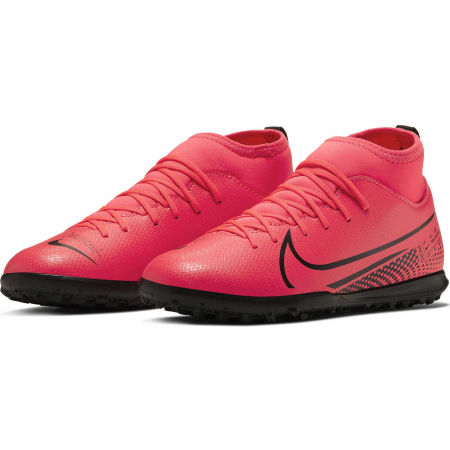 Kids' turf football shoes - Nike JR MERCURIAL SUPERFLY 7 CLUB TF - 3