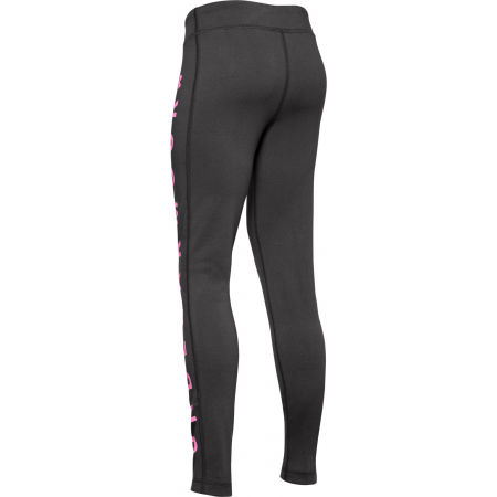 Girls' leggings - Under Armour SPORTSTYLE BRANDED LEGGING - 2