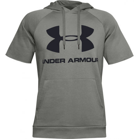 Herren Sweatshirt - Under Armour RIVAL FLEECE LOGO SS - 1