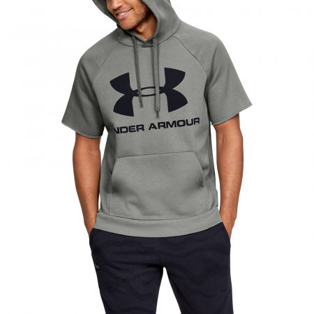 Herren Sweatshirt - Under Armour RIVAL FLEECE LOGO SS - 5