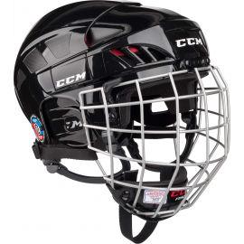 CCM FITLITE 50 COMBO SR BLK - Hokejová helma