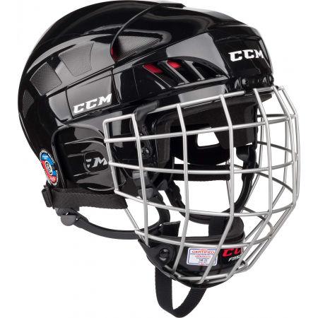 CCM FITLITE 50 COMBO SR BLK - Hockey helmet