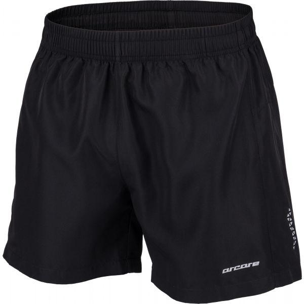 Arcore GINO černá M - Pánské běžecké šortky