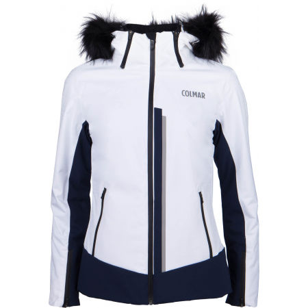 Dámská lyžařská bunda - Colmar L.SKI JACKET+FUR - 1