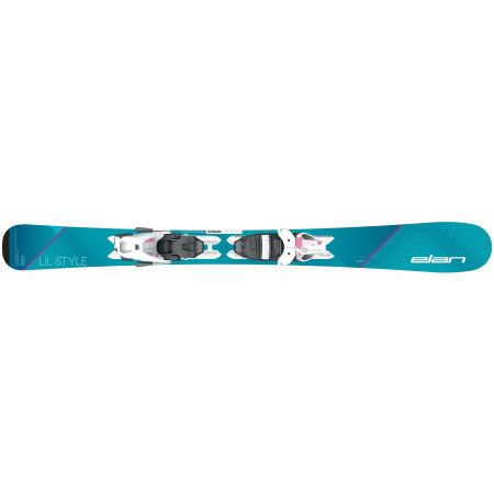Момичешки ски за спускане - Elan LIL STYLE QS + EL 7.5 - 2