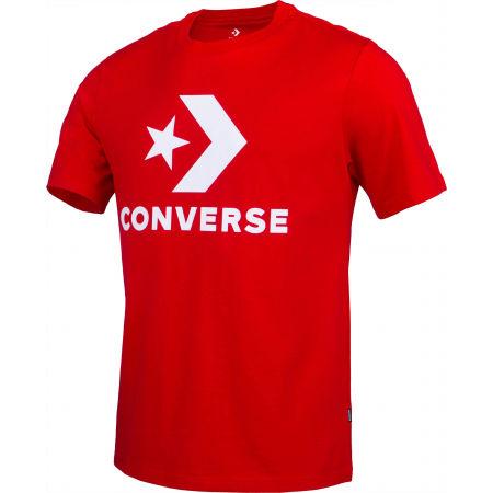 Pánské tričko - Converse STAR CHEVRON TEE - 1