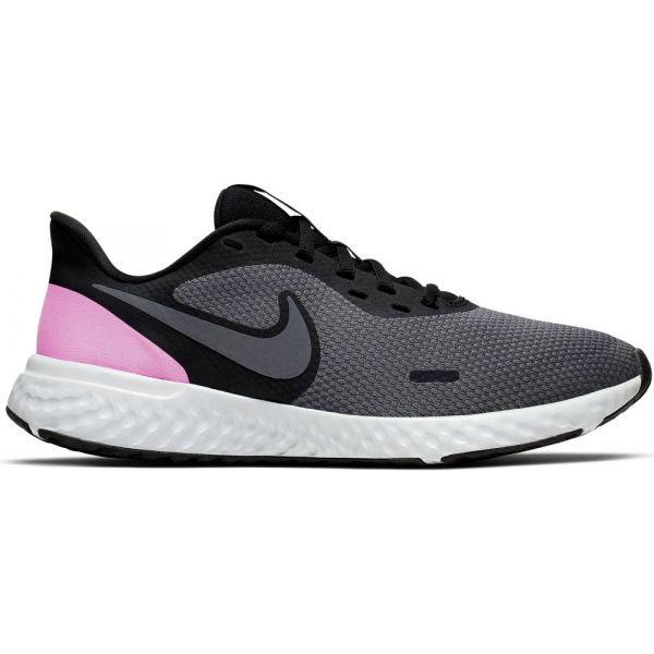 Nike REVOLUTION 5 W černá 7 - Dámská běžecká obuv