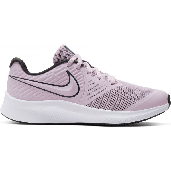 Nike STAR RUNNER 2 GS fialová 5.5Y - Detská bežecká obuv