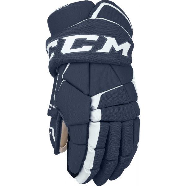 CCM TACKS 9060 SR modrá 14 - Hokejové rukavice