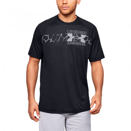 Men's T-shirt - Under Armour TECH 2.0 GRAPHIC SS - 3
