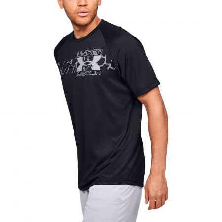 Men's T-shirt - Under Armour TECH 2.0 GRAPHIC SS - 4