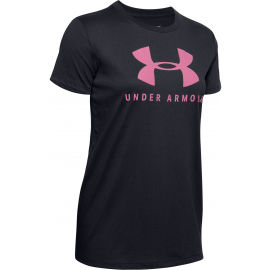 Under Armour GRAPHIC SPORTSTYLE CLASSIC CREW-BLK