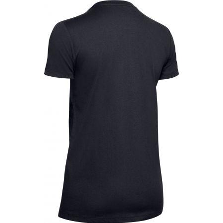 Dámske tričko - Under Armour GRAPHIC SPORTSTYLE CLASSIC CREW-BLK - 2