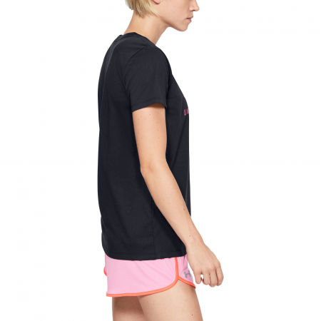 Women's T-shirt - Under Armour GRAPHIC SPORTSTYLE CLASSIC CREW-BLK - 5