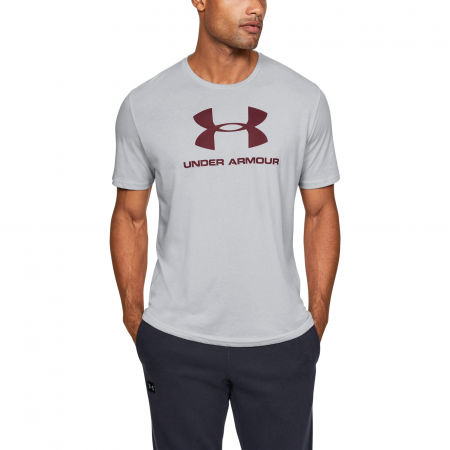 Men's T-shirt - Under Armour SPORTSTYLE LOGO SS - 3