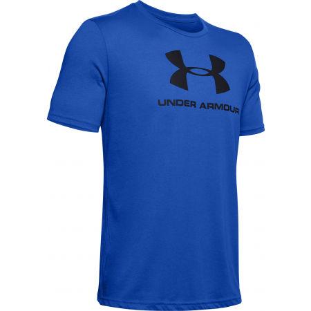 Koszulka męska - Under Armour SPORTSTYLE LOGO SS - 1