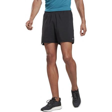 Pánské běžecké šortky - Reebok RE  2-1  SHORT - 4