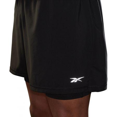 Pánské běžecké šortky - Reebok RE  2-1  SHORT - 6