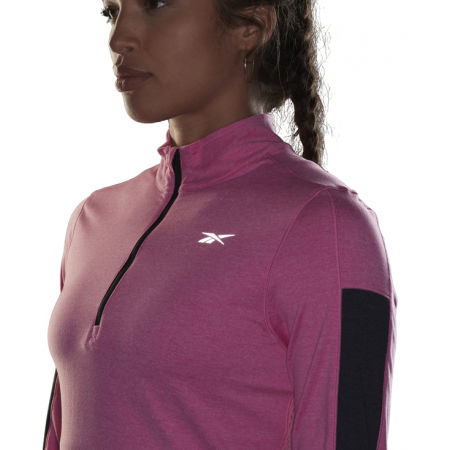 Women's sports sweatshirt - Reebok RE 1/4 ZIP - 6