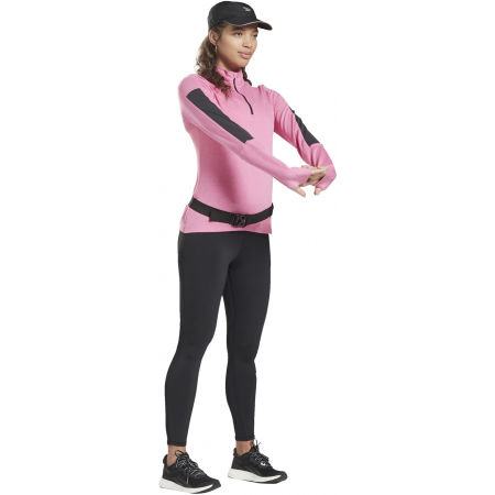 Women's sports sweatshirt - Reebok RE 1/4 ZIP - 3
