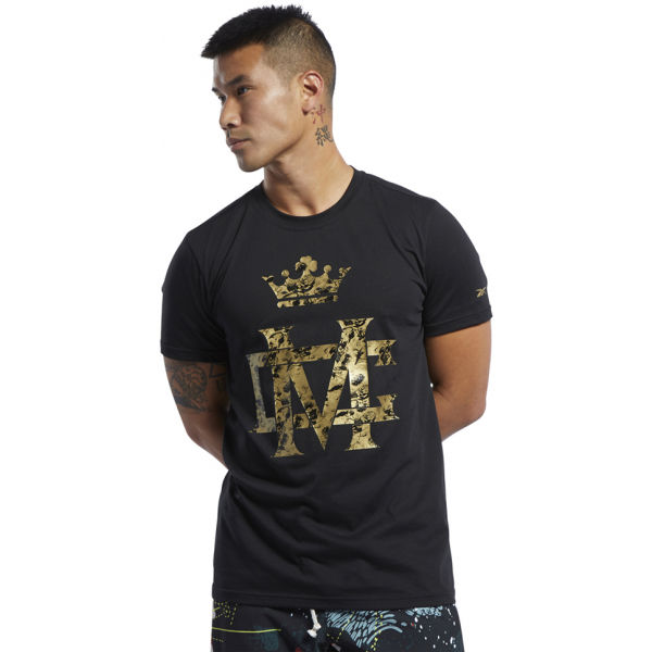 Reebok CBT CMG TEE černá XL - Pánské triko