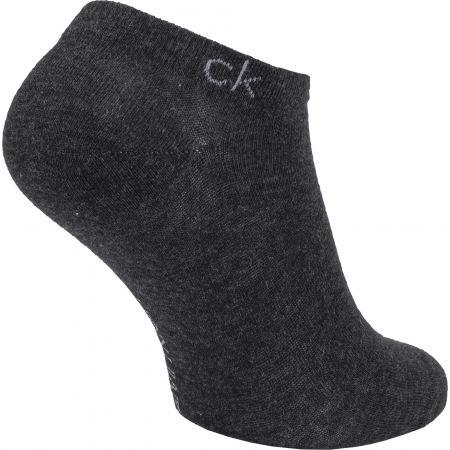 Dámske ponožky - Calvin Klein 2PK FLAT KNIT - 3