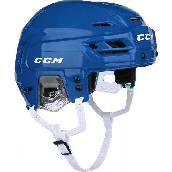 CCM TACKS 310 SR modrá M - Hokejová helma