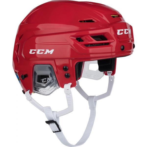 CCM TACKS 310 SR červená L - Hokejová helma