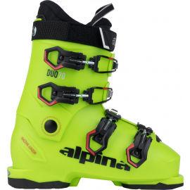 Alpina DUO 70 - Juniorská obuv na sjezdové lyžování