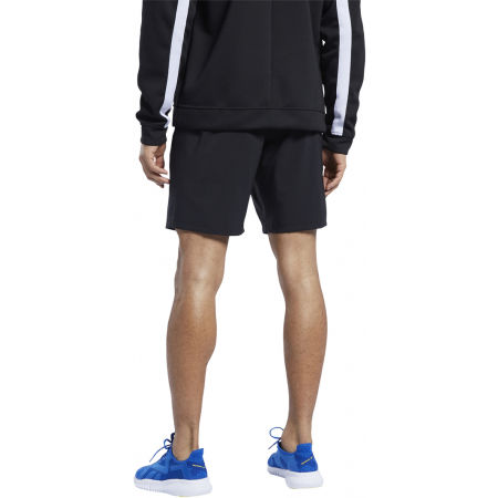 Men's training shorts - Reebok WORKOUT WOVEN SHORT - 3